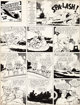 Frank Miller Barney Baxter in the Air Sunday Comic Strip Original Art dated 8-29-43 (King Features Syndicate, 1943... (1...