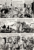 Original Comic Art:Panel Pages, Bernie Krigstein Valor #5 Story Page 2 Original Art (EC,1955)....
