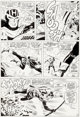 Don Heck Avengers #33 Page 10 Hawkeye Original Art (Marvel, 1966)