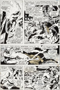 Original Comic Art:Panel Pages, Gene Colan and Tom Palmer Daredevil #80 Page 12 Original Art(Marvel, 1971)....