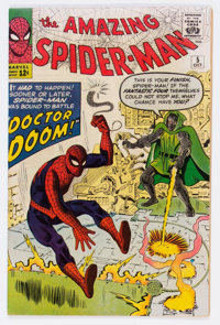 The Amazing Spider-Man #5 (Marvel, 1963) Condition: Apparent VF-