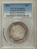 Early Half Dollars, 1806 50C -- Cleaned -- PCGS Genuine. XF Detail. PCGS Population:(14/25). CDN: $1,800 Whsle. Bid for pro...
