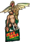 "Movie Posters:Horror, King Kong (RKO, 1933). Hanger (9.5"" X 20.5"") DS."