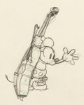 Animation Art:Production Drawing, Mickey's Good Deed Mickey Mouse Animation Drawing (WaltDisney, 1932)....