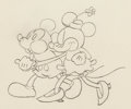Animation Art:Production Drawing, The Pet Store Mickey Mouse and Minnie Mouse AnimationDrawing (Walt Disney, 1932)....