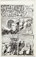 "Original Comic Art:Complete Story, Dame Darcy Meat Cake #4 Complete 8-Page Story ""Stained Glass"" Original Art (Fantagraphics, 1995).... (Total: 8 Original Art)"