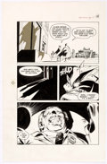 Original Comic Art:Panel Pages, Neal Adams and Dick Giordano Batman: Stacked Cards [Book andRecord Set] #PR27 Page 10 Original Art (Power Records...