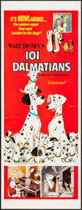 "Movie Posters:Animation, 101 Dalmatians (Buena Vista, R-1969). Insert (14"" X 36"").Animation.. ..."
