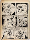 Kin Platt (attributed) Master Comics #22 Story Page 2 Original Art (Fawcett Publ Comic Art