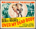 "Movie Posters:Comedy, Over My Dead Body (20th Century Fox, 1942). Half Sheet (22"" X 28""). Comedy.. ..."