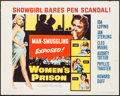 "Movie Posters:Bad Girl, Women's Prison (Columbia, 1955). Half Sheet (22"" X 28""). Bad Girl....."