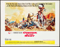 "Movie Posters:Western, Custer of the West (Cinerama Releasing, 1968). Half Sheet (22"" X 28""). Western.. ..."