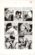 George Roussos The Unseen #12 Story Page 3 Original Art (Pines Comics, 1953) Comic Art