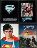 """Movie Posters:Action, Superman the Movie & Other Lot (Warner Brothers, 1978). Programs (2) (Multiple Pages, 8.5"""" X 11"""" 9"""" X 12""""). Action.. ... (Total: 2 Items)"""