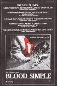 """Blood Simple (Circle Films, 1984). One Sheets (5) Identical (24.5"""" X 36""""). Thriller. ... (Total: 5 Items)"""