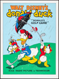 """Movie Posters:Animation, Donald's Golf Game (Circle Fine Art, R-1980s). Fine Art Serigraphs(5) (Identical) (22.5"""" X 30.5""""). Animation. ... (Total: 5 Items)"""