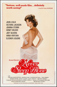 "Never Sleep Alone & Other Lot (Kemal Enterprises, 1983). One Sheets (34) (27"" X 41"") Flat Folded. Adult..."