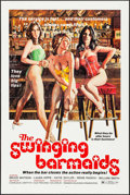 "Movie Posters:Sexploitation, The Swinging Barmaids & Other Lot (Premiere Releasing, 1975).One Sheets (23) Identical (27"" X 41"") Flat Folded. Sexploitati...(Total: 23 Items)"
