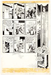 Will Eisner The Spirit Sunday Newspaper Section Page 2 Original Art dated 6-26-49 (Register & Tribune Syndicate, 1...