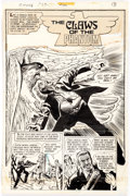 "Original Comic Art:Complete Story, John Calnan Ghosts #29: ""The Claws of the Phantom"" Complete7-Page Story Original Art (DC Comics, 1974)...."