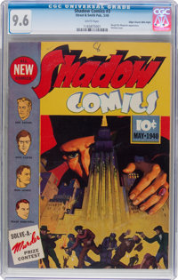 Shadow Comics #3 Mile High Pedigree (Street & Smith, 1940) CGC NM+ 9.6 White pages