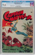 Golden Age (1938-1955):Superhero, Captain Marvel Jr. #27 Mile High Pedigree (Fawcett Publications, 1945) CGC NM+ 9.6 Off-white to white pages....