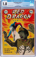 Golden Age (1938-1955):Miscellaneous, Red Dragon Comics #7 (Street & Smith, 1943) CGC GD- 1.8 Cream to off-white pages....