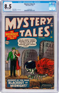 Golden Age (1938-1955):Horror, Mystery Tales #5 (Atlas, 1952) CGC VF+ 8.5 Cream to off-whitepages....