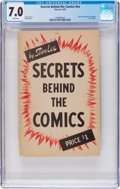 Books:Creator Biography, Secrets Behind The Comics #1 (Famous Enterprises Inc., 1947) CGCFN/VF 7.0 White pages....