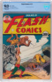 Flash Comics #13 (DC, 1941) CBCS VF/NM 9.0 Off-white to white pages