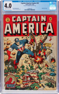 Golden Age (1938-1955):Superhero, Captain America Comics #33 (Timely, 1943) CGC VG 4.0 Cream to off-white pages....