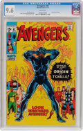 Bronze Age (1970-1979):Superhero, The Avengers #87 (Marvel, 1971) CGC NM+ 9.6 White pages....