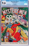 Golden Age (1938-1955):Superhero, Mystery Men Comics #6 Mile High Pedigree (Fox, 1940) CGC NM+ 9.6 Off-white to white pages....