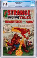 Silver Age (1956-1969):Superhero, Strange Tales #116 (Marvel, 1964) CGC NM 9.4 Off-white to white pages....