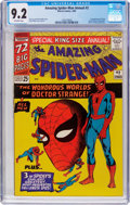 Silver Age (1956-1969):Superhero, The Amazing Spider-Man Annual #2 (Marvel, 1965) CGC NM- 9.2 Off-white pages....