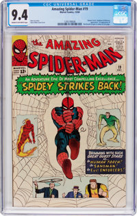 The Amazing Spider-Man #19 (Marvel, 1964) CGC NM 9.4 Cream to off-white pages