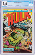 Bronze Age (1970-1979):Superhero, The Incredible Hulk #180 (Marvel, 1974) CGC NM+ 9.6 White pages....