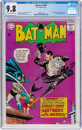 Silver Age (1956-1969):Superhero, Batman #169 (DC, 1965) CGC NM/MT 9.8 Off-white to white pages....
