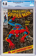 Bronze Age (1970-1979):Superhero, The Amazing Spider-Man #100 (Marvel, 1971) CGC NM/MT 9.8 Off-whiteto white pages....