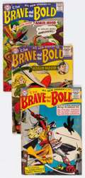 Golden Age (1938-1955):Miscellaneous, The Brave and the Bold Group of 4 (DC, 1956) Condition: Apparent GD.... (Total: 4 Comic Books)