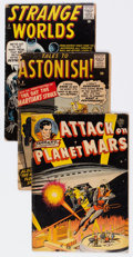 Golden Age (1938-1955):Science Fiction, Comic Books - Assorted Golden Age Science Fiction Comics Group of 8(Various Publishers, 1950s) Condition: Average FR/GD.... (Total: 8Comic Books)