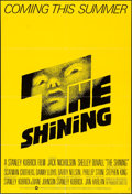 "Movie Posters:Horror, The Shining (Warner Brothers, 1980). International One Sheet (27"" X40"") Advance. Horror.. ..."