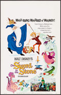 "Movie Posters:Animation, The Sword in the Stone (Buena Vista, 1963). Window Card (14"" X 22""). Animation.. ..."