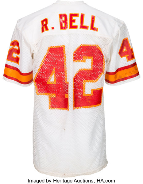 775aa2895 1981 Ricky Bell Game Worn Tampa Bay Buccaneers Jersey (With
