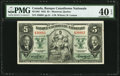 Canadian Currency: , Montreal, PQ- Banque Canadienne Nationale $5 Jan. 2, 1935 Ch. # 85-14-02.. ...