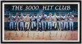 Autographs:Photos, 3,000 Hit Club Signed Lithograph.. ...