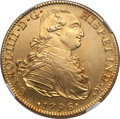 Mexico, Mexico: Charles IV gold 8 Escudos 1796 Mo-FM AU Details (PolishedRepaired) NGC,...