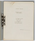 """Football Collectibles:Others, c. 1925 Knute Rockne """"Track Coaching Course"""" Notebook.. ..."""