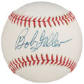 Autographs:Baseballs, Bob Feller Single Signed Baseball.. ...