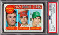 Baseball Cards:Singles (1960-1969), 1969 Topps Rollie Fingers - A.L. Rookie Stars #597 PSA Gem Mint 10....